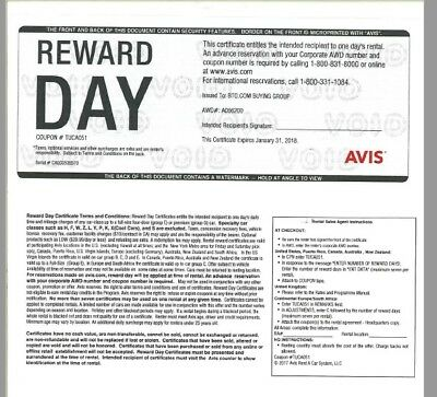 Nov 30, · Free bonus day of car rental from Avis when your reservation is for a rental car for three days on a weekend. You can redeem one Avis coupon code per reservation. Type your code into the entry field located next to the Car Type and Avis Wizard Number sections of the homepage.