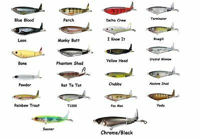 River2Sea Whopper Plopper 110 Topwater Bait - Assorted Colors