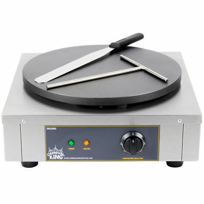 Crepe Maker 16 Inch Heavy Duty Commercial Stainless Steel Electric 110V