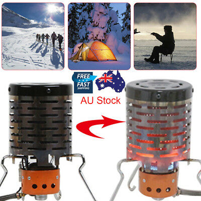 Stainless Steel Portable Winter Camping Tent Heater Warmer Stove Heating Cover