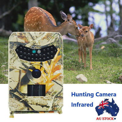 12MP 1080P FHD DVR Trail Scouting Wildlife IR LED Infrared IP56 Hunting Camera