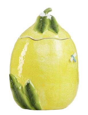 Martha Stewart Collection Lemon Cookie Jar Perfect Condition Never Used