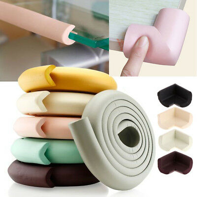 Table Protector Cushion Guard Baby Toddler Safety Soft Foam 2M Edge & 4 Corner