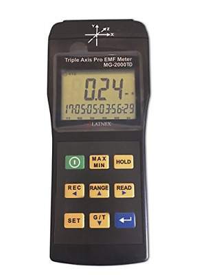 EMI Magnetic field gauss Meter detector MG-2000TD Triple Axis Professional use w
