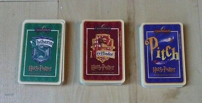 Harry Potter Quidditch -  Slytherin Griffindor And Pitch Trading Card Game