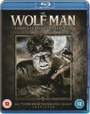 The Wolf Man Complete Legacy Collection (7 Films) Blu-Ray NEW BLU-RAY (8311744)