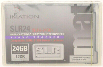 505112 IMATION mat SLR24/6 12/24GB Datenkassette Bandkassette Cartridge