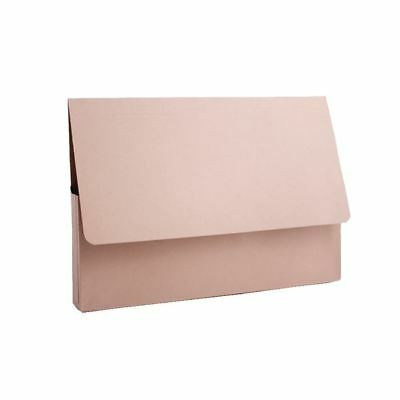 Guildhall A4 Document Wallet 285gsm Buff PDW4-BUFZ Pack of 50 [GH14038]