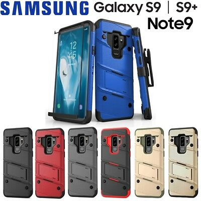 new styles 3a227 16ccc SAMSUNG GALAXY NOTE 9 / S9 / S9+ Case, Zizo Bolt w/ Screen Protector and  Holster
