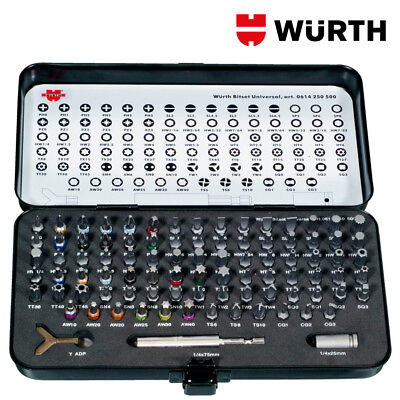 Inserti Avvitatore Professionali Kit 90pz - WÜRTH