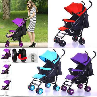Baby Pram Travel System Stroller Buggy Child Cot Jogger Push Chair 0-36 Months