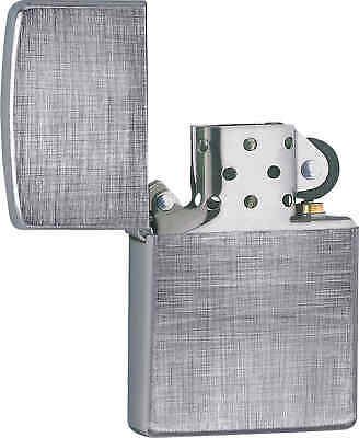Zippo Classic Line Weave Brushed Chrome Windproof Lighter 28181