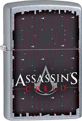 Zippo Classic Assassins Creed Street Chrome Windproof Lighter 29495
