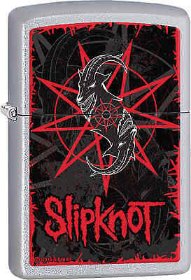 Zippo Classic Slipknot Satin Chrome Windproof Lighter 28993