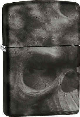 Zippo Classic Skull Softtouch Windproof Lighter 28970
