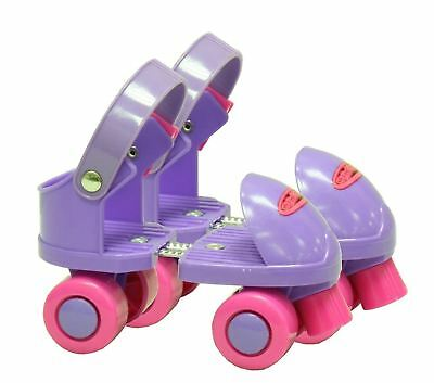 Ozbozz My First QUAD Rollerskates Toddler Junior Infant Adjustable Skates 5-12