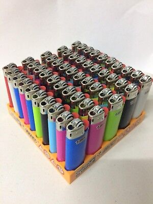 24 ORIGINAL mini bic lighter in different colors - NEW