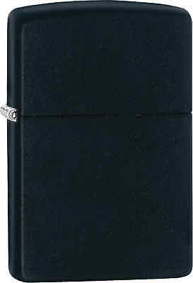Zippo Classic Black Matte Windproof Lighter 218