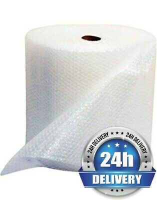 1 ROLL LARGE BUBBLE WRAP ROLL 600mm WIDE x 50 METRES LONG PACKAGING CUSHIONING