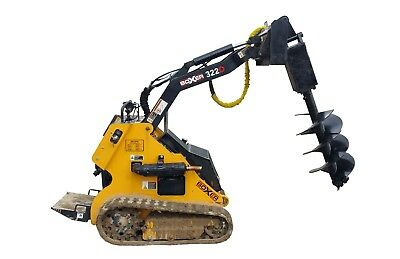 Mini Skid Steer Attachment Auger Drive w/ Dirt Bit - Free Shipping - Toro Dingo