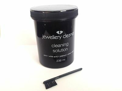 Jewellery CLEANER SOLUTION POLISH  GOLD, PLATINUM, cleaning SILVER NEW