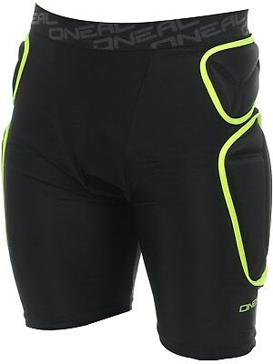 ONeal Lime-Black 2018 Trail MX Protection Shorts