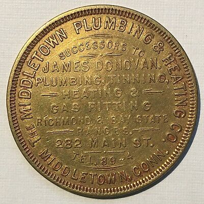 Middletown Plumbing and Heating Connecticut - Swastika Token - Good Luck Club