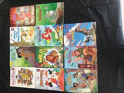 Disney's Wonderful World of Reading book lot of 11 hardcover classics