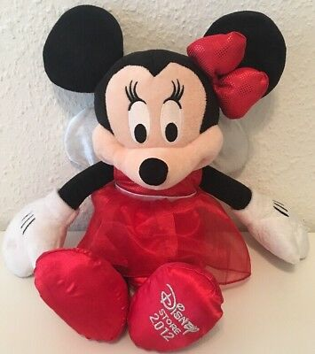Minnie Mouse Limited Edition Disney Store Sonder Edition 2012 Stofftier