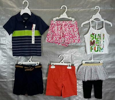 Wholesale Lot Assorted Children Clothing Brand New Infant Toddler 50 pieces
