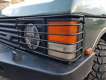 Range Rover Classic  Front Headlight Guards  Years 1970 To 1996