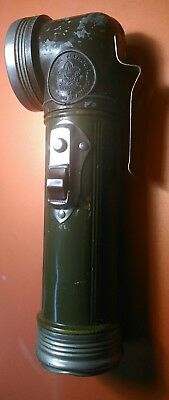 Vintage Boy Scouts of America Right Angle Flashlight Official Bridgeport BSA