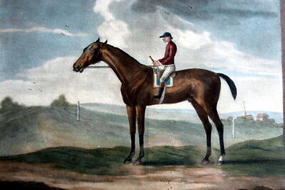 1794 Colorized Mezzotint Engraving by Laurie & Whittle of Bay Malton plate # 231