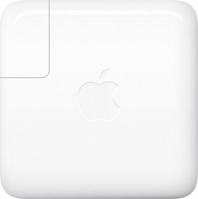 Genuine Apple MNF72LL/A 61W USB-C Power Adapter model A1718 with USB-C Cord (US)