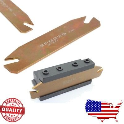 SPB26-3 26mm Part Off Blade Grooving Cut-Off Tool for ZQMX 3N11-1E SP300 Insert