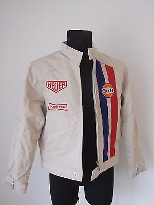 TAG HEUER GRAND PRIX Steve McQueen  NEW ORIGINAL JACKET SIZE XL