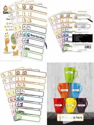 Baby Bottle Labels Daycare School Infant Feeding Name Stickers Cups Toys Gift