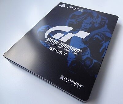 GRAN TURISMO SPORT STEELBOOK BRAND NEW STEEL CASE PS4 G2 STEELBOX no game inside
