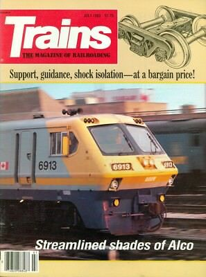 1983 Trains Magazine: Streamlined Shades of Alco/Support Guidance Shock Isolatio