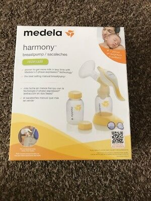 Medela Harmony Manual Breast Pump - BPA free - 2 Phase Expression Technology