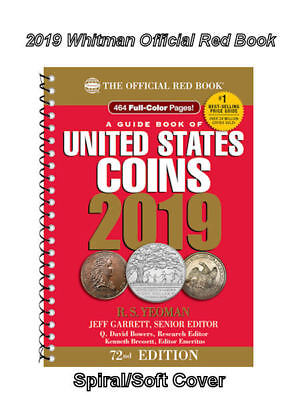 2019 Red Book Price Guide, 72nd Edition, Spiral, Case 24, In Stock, Shipping NOW