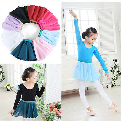 Chiffon Dance Ballet Wrap Round Skirt with Elastic more than colors