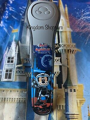NEW Disney Parks Space Mountain GRAY Magic Band 2 Magicband Mickey Stitch