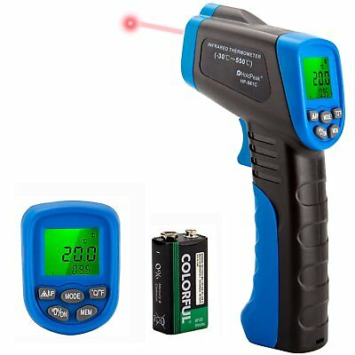 Temperature Gun Infrared Thermometer Laser Non Contact Digital IR LCD 50 - 550°C