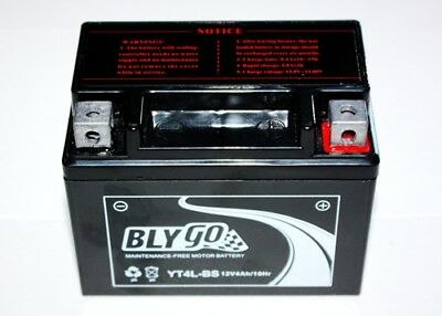 YT4L-BS 12V4AH Battery 50cc 90cc 110cc 125cc PIT PRO DIRT QUAD BIKE ATV BUGGY