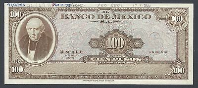 North & Central America Mexico 50 Pesos 29-12-1972 P49us Uniface Proof Uncirculated Mexico