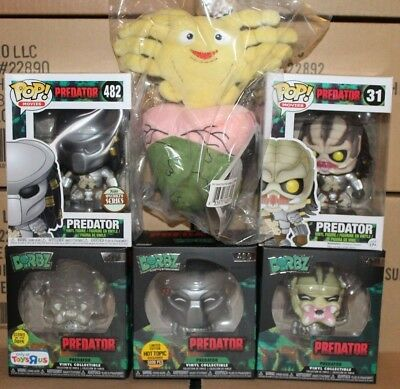 Funko POP Dorbz Specialty Series Masked Vaulted Predator!!! Free Facehugger!!!