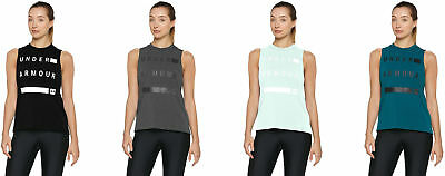 a76cca2761 UNDER ARMOUR WOMEN'S Linear Wordmark Muscle Tank, 4 Colors - $30.49 ...
