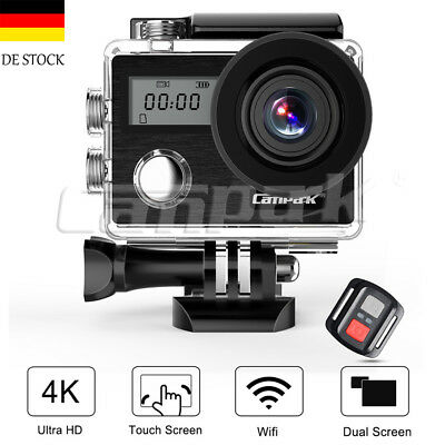 Campark X20 WIFI Sports Action Camera 4K Kamera 20MP Ultra Full HD Wasserdichte