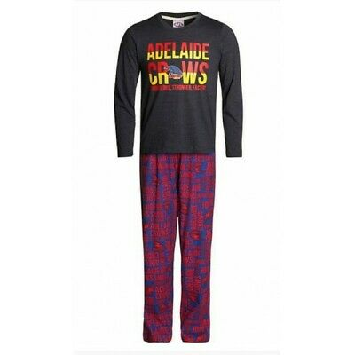 Adelaide Crows Official AFL Winter Youth Pyjamas BNWT